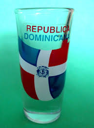 flag of republica dominicana dominican republic tall shot glass 1 of 2only 1 available see more