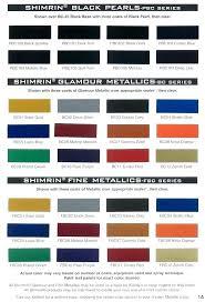 Ppg Paint Colors Automotive Color Palette Auto Codes Endowed