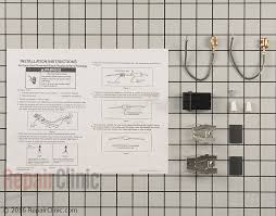 whirlpool range stove oven parts fast shipping element receptacle and wire kit part 3374 mfg part 330031