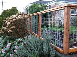 diy fence ideas modern wire and wood fence with wood gate i wonder what the would say diy biesemeyer fence plans