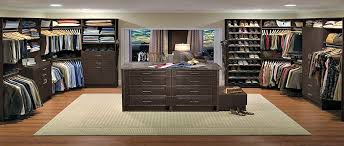 walk in custom closet designed using our 3d