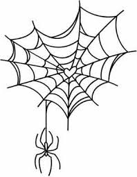 web drawing spider web drawing easy clipartxtras