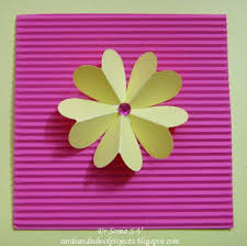 Chart Paper Flower Making Cards Crafts Kids Projects Paper Flower Tutorials 14 Types Of