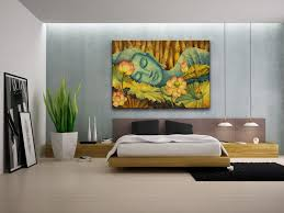 Bedroom Paintings New Fancy Canvas Painting Ideas For Bedrooms Greenvirals  Style