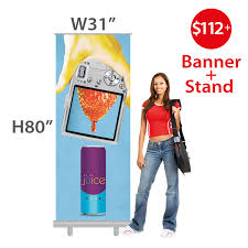 Artistic Displays Banner Stands Fascinating One Group Retractable Banners
