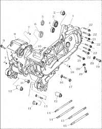 gy6 50cc engine parts breakdown mefast parts