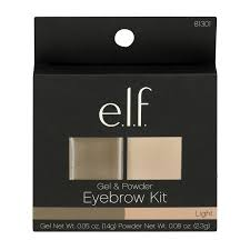 elf eyebrow kit. e.l.f. gel \u0026 powder eyebrow kit light, elf s