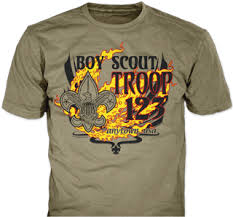 Tee Shirt Design Ideas Boy Scout Troop T Shirt Design Idea Sp2149 On Prairie Dust T Shirts