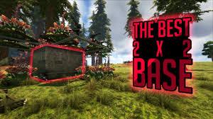Ark Survival Base Designer The Best 2x2 Pvp Base Design In Ark Survival Evolved