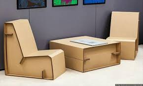 cardboard living room furniture project cardboard furniture diy
