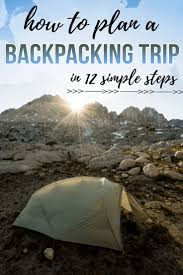 best ideas about havasu falls hike lake havasu how to plan a backpacking trip in 12 simple steps