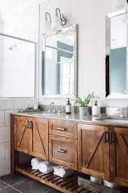 Simple y elegante diseño de pileta tallada en madera. 35 Best Rustic Bathroom Vanity Ideas And Designs For 2021