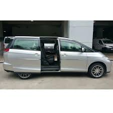 toyota previa spacious 8 seater mpv with auto sliding doors for lease