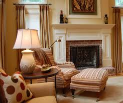 traditional family room designs. Example Of A Classic Family Room Design In Dc Metro With Beige Walls Fireplace, Large Traditional Designs