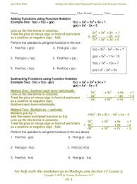 Best Ideas of Adding And Subtracting Polynomials Worksheets In besides Elementary Algebra 1 0   FlatWorld as well Adding Polynomials in addition  as well Adding Polynomials Students are asked to find the sum of two also How To Add Polynomials and Subtract Polynomials  Ex les in addition  together with Adding Subtracting Polynomials Worksheet Gina Wilson 2012 And likewise  as well ShowMe   adding subtracting polynomials additionally . on adding and subtracting polynomials worksheet
