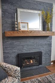 black slate fireplace surround round designs