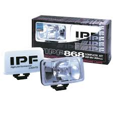 ipf rectangular drive spot lamps jjc race rally ipf 868 rectangular drive spot lamps