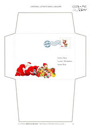 funny letter to santa template envelope sleeping address