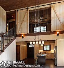 barn house plans. Plan 18766CK: Fabulous Wrap-Around Porch Barn House Plans