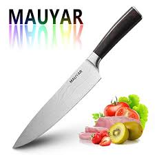 Professional <b>Chef Knife</b> 8 Inch Razor Sharp <b>Damascus Laser</b> ...