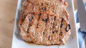grilled pork chops tender and
