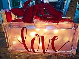 glass block love