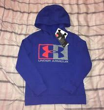 under armour youth hoodie. nwt boys under armour pullover hoodie sweatshirt size youth small