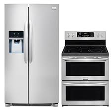 side by side double oven electric range.  Oven Side By Double Oven Electric Range Wonderful Smudge Proof  Stainless Steel Kitchen Package On Side By Double Oven Electric Range