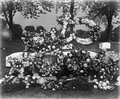 Funeral Arrangement for August Krueger | Photograph | Wisconsin Historical  Society