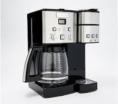 Sold and shipped by vm express. Cuisinart Coffee Center 12 Cup Coffee Maker Single Serve Brewer Qvc Com