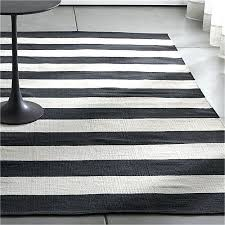 Mark Chambers Black And White Rug 8x10 S Striped Area Outdoor