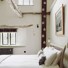 small white bedroom with wooden beams bedroom design ideas small