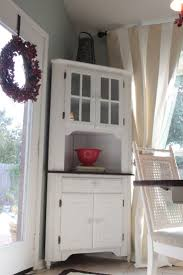 Corner Kitchen Hutch Furniture 17 Best Images About Kitchen Hutch On Pinterest Shabby Chic