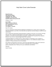 Help With A Cover Letter For My Resume Help Desk Cover Letter Sample Cover Letter Resume Examples 6