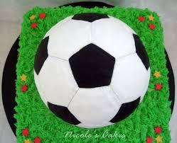 On Birthday Cakes: Soccer Ball Cake