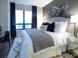 accent wall ideas surely wish to try this at home bedroom living room painted wood colors navy blue color scheme bedroom
