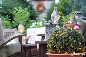 5 inexpensive ideas for outdoor patio