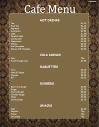 Free Catering Menu Templates For Microsoft Word Doc740415 Microsoft Office Menu Templates Food Menu