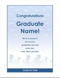 congratulation templates graduate congratulations flyer graduation party design office