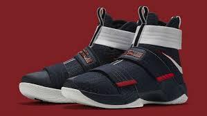 lebron usa shoes. nike lebron soldier 10 usa 844379-416 lebron usa shoes sole collector