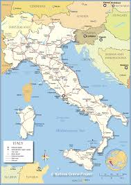 Big Map Of Italy And Travel Information Download Free Big Map Of Italy