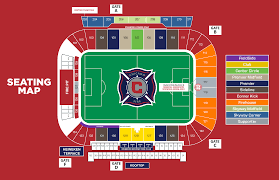 Seatgeek Stadium Seating Map Chicago Fire Seating Charts