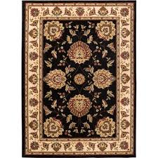 well woven timeless abbasi black 8 ft x 11 ft traditional area rug
