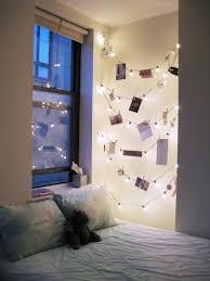 string lights to make your bedroom