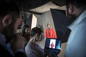 photo essay istanbul s islamic fashion a photographer and the ala editorial board discuss an image being considered for the cover scarves are from a wide range of designers like domestic armine