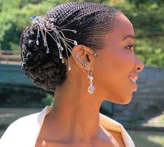 Julietlauratricia Web Coiffure Mariage Cheveux Courts Afro