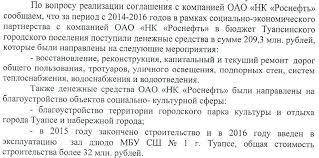Туапсе и окрестности Туапсе Единая Россия Джеус отчет Роснефть