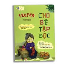 Sách - Truyện cho bé tập đọc
