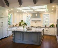 White Kitchen With Charcoal Gray Island Kate Marker Interiors