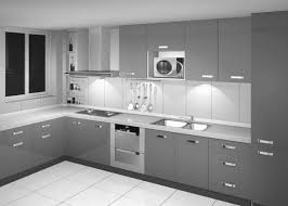 Light Gray Kitchen Modern Kitchen Largesize Modern Home Kitchen Cabinetry With Black